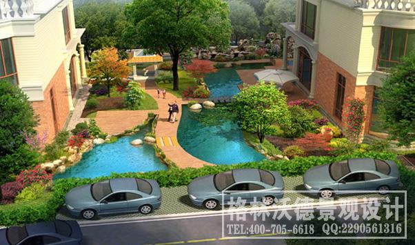 湘龙家园别墅庭院景观设计