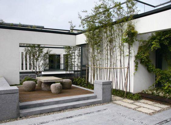 现代中式庭院设计,美不胜收