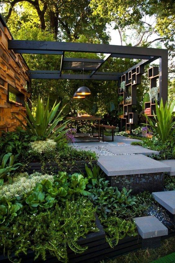 私家庭院景觀設計,綠植是不是很美